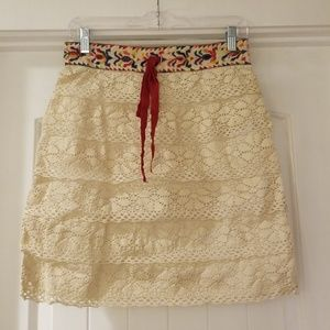 🆕 Anna Sui Knitted Skirt